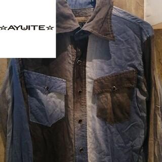 アユイテ(AYUITE)の【紋章グラデーション】AYUITEシャツ ZARA ワコマリア  takuya∞(シャツ)