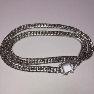 ナイキ(NIKE)の喜平チェーン シルバー ステンレスネックレス 60cm  (ネックレス)