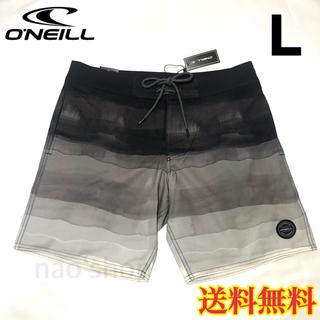オニール(O'NEILL)の【新品】オニール メンズ ボードショーツ 水着 ブラック 32(水着)