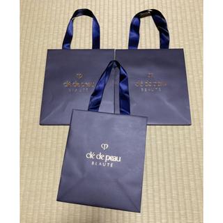 クレドポーボーテ(クレ・ド・ポー ボーテ)の クレドポーボーテ ショップ袋×3枚(ショップ袋)