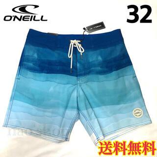 オニール(O'NEILL)の【新品】オニール メンズ ボードショーツ 水着 ブルー 32(水着)