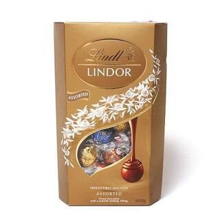 リンツ(Lindt)のリンツ リンドールチョコレート アソート4種 600g (48個)(菓子/デザート)