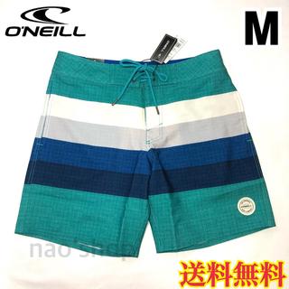 オニール(O'NEILL)の【新品】オニール メンズ ボードショーツ 水着 グリーン 30(水着)