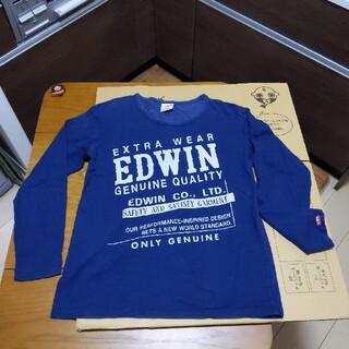 エドウィン(EDWIN)のEDWIN ロングTシャツ Lサイズ (Tシャツ/カットソー(七分/長袖))