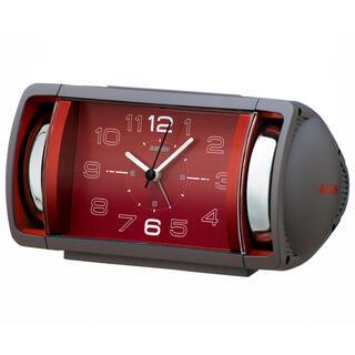セイコー(SEIKO)の目覚まし時計 NR447N グレーセイコー(置時計)