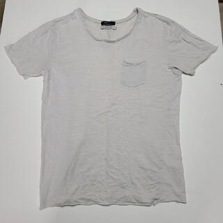 パリゴ(PARIGOT)のinfluence インフルエンス PARIGOT ポケットTシャツ M 薄灰(Tシャツ/カットソー(半袖/袖なし))