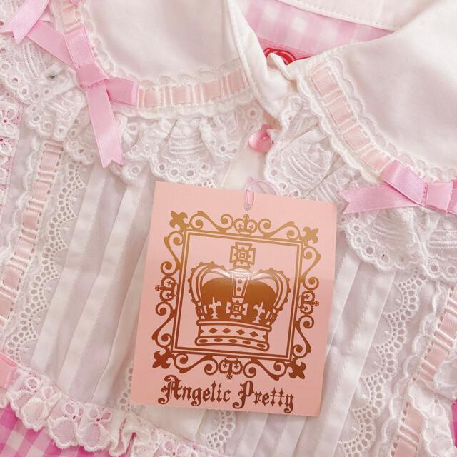 Angelic Pretty(アンジェリックプリティー)のレア!Angelic Pretty パステルアラモード op セット jsk レディースのワンピース(ひざ丈ワンピース)の商品写真