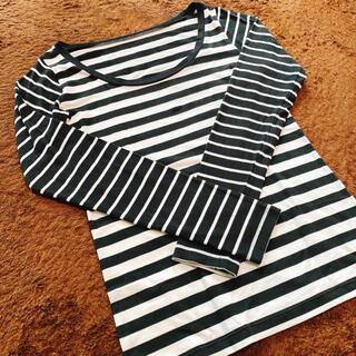 ピーチジョン(PEACH JOHN)のボーダー ロンT(Tシャツ(長袖/七分))