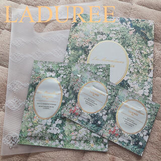 レメルヴェイユーズラデュレ(Les Merveilleuses LADUREE)のラデュレ サンプル(化粧水/ローション)