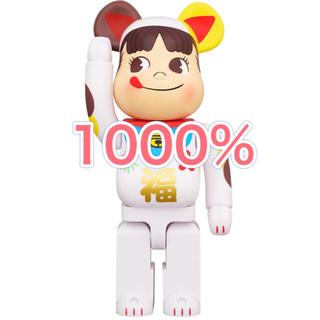 メディコムトイ(MEDICOM TOY)の君の名は さん 専用 BE@RBRICK 招き猫 ペコちゃん 福 1000%(その他)
