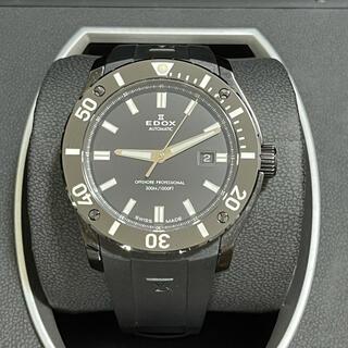 エドックス(EDOX)のEDOX OFFSHORE PROFESSIONAL オールブラック(腕時計(アナログ))