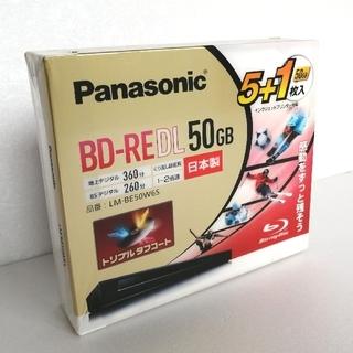 パナソニック(Panasonic)のパナソニック ブルーレイディスク 二層6枚◆BDレコーダーと同時購入で1000円(その他)