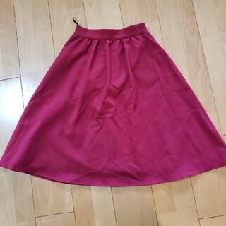 エニィスィス(anySiS)のエニィスィス anysis レディース スカート ピンク 使用1回 美品(ひざ丈スカート)