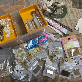 キワセイサクジョ(貴和製作所)のハンドメイド パーツなどBOXも セット 貴和製作所(各種パーツ)
