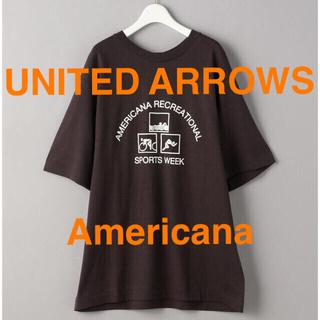 アメリカーナ(AMERICANA)の【UNITED ARROWS別注】 <Americana>プリントTシャツ(Tシャツ(半袖/袖なし))