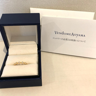 ヴァンドームアオヤマ(Vendome Aoyama)のヴァンドーム青山 ダイヤモンド ピンキーリング(リング(指輪))