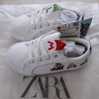 ザラ(ZARA)のZARAザラ新品マリオカートスニーカーシューズ靴キッズ幼児ベビー(スニーカー)