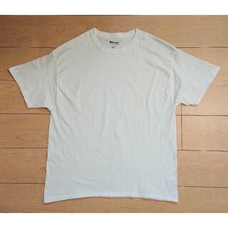 チャンピオン(Champion)の良品 CHAMPION チャンピオン 半袖 Tシャツ  XL ホワイト(Tシャツ/カットソー(半袖/袖なし))