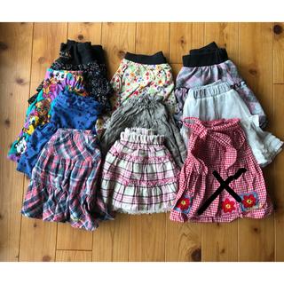 サンカンシオン(3can4on)の値下げ女の子 10点スカート 110(スカート)