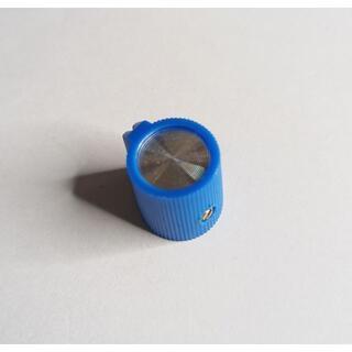 ポインターノブ  BLUE 青 16×14mm(エフェクター)