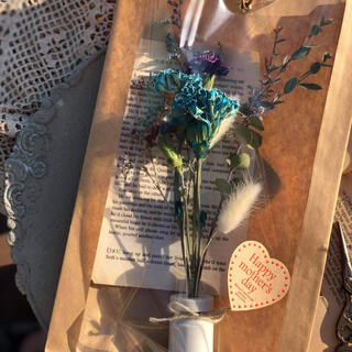 Flomcarnationのカーネーション とそのまま飾れるドライフラワー (ドライフラワー)
