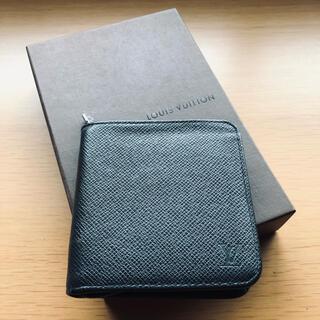 LOUIS VUITTON - LOUIS VUITTON タイガ ポルト ビエ モネ ラウンドファスナー 財布
