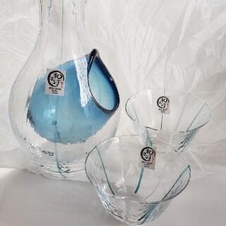 トウヨウササキガラス(東洋佐々木ガラス)の冷酒 グラスセット(グラス/カップ)