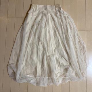 ディーホリック(dholic)のチュール バルーンスカート 韓国 DHOLIC(ロングスカート)