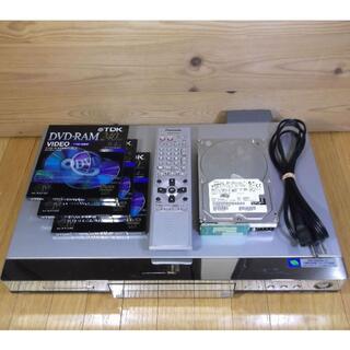 パナソニック(Panasonic)のDVDレコーダー DMR-HS2 HDD DVD-RAMx3枚 動作品【送料込】(DVDレコーダー)
