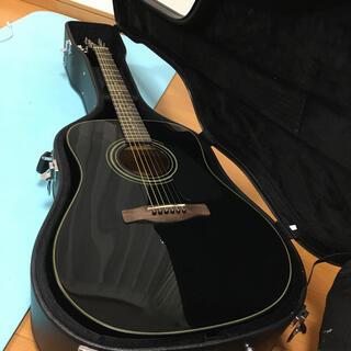 Fender CD60 BLK 純正ハードケース&オマケ多数(アコースティックギター)