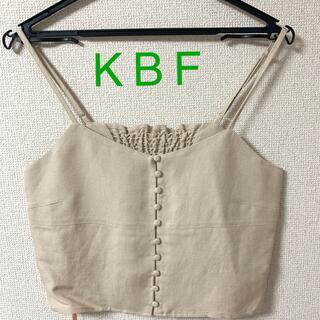 ケービーエフ(KBF)のK B F ビスチェ(キャミソール)