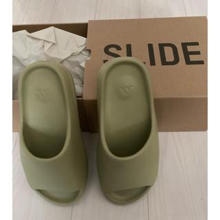 アディダス(adidas)の【新品】YEEZY SLIDE RESIN 26.5(サンダル)