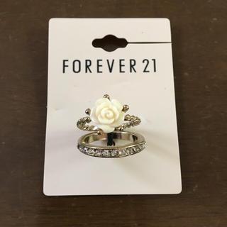 フォーエバートゥエンティーワン(FOREVER 21)のフォーエバー 21 指輪 ローズ リング(リング(指輪))