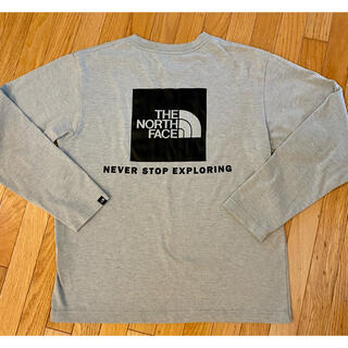 THE NORTH FACE - THE NORTH FACE ロンT 長袖Tシャツ バックボックスロゴ