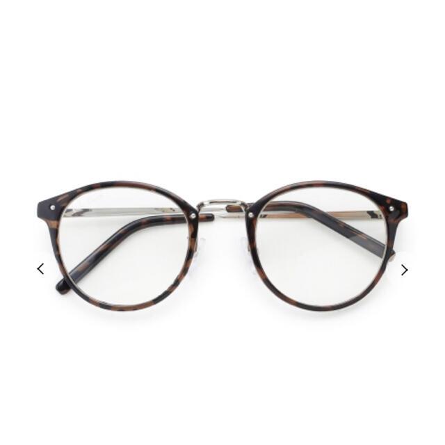 Mila Owen(ミラオーウェン)の伊達メガネ レディースのファッション小物(サングラス/メガネ)の商品写真