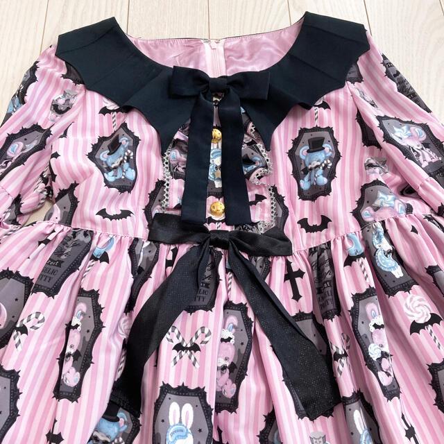 Angelic Pretty(アンジェリックプリティー)のAngelic Pretty Horror candy shop op jsk レディースのワンピース(ひざ丈ワンピース)の商品写真