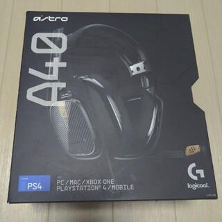 プレイステーション4(PlayStation4)のAstro A40TR Black (ヘッドフォン/イヤフォン)