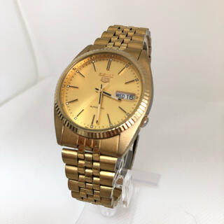 セイコー(SEIKO)のセイコー 7S26-0500 ゴールド (腕時計(アナログ))