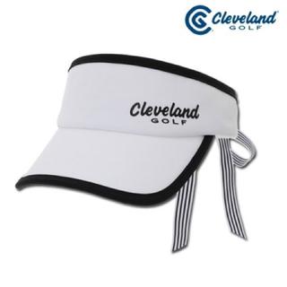 Cleveland golf クリーブランド ゴルフ 韓国 リボン サンバイザー(ウエア)