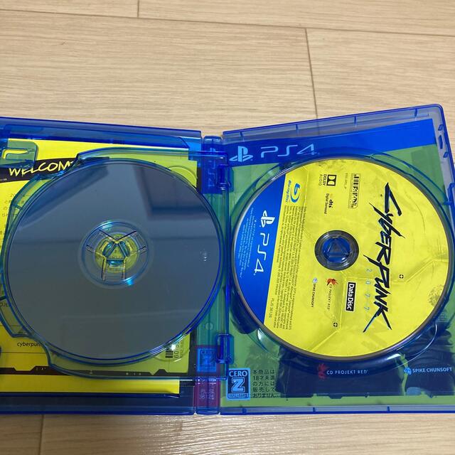 サイバーパンク2077 ps4  エンタメ/ホビーのゲームソフト/ゲーム機本体(家庭用ゲームソフト)の商品写真