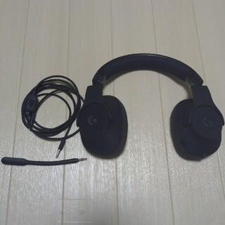 プレイステーション4(PlayStation4)のLogicool G G433 Black(ヘッドフォン/イヤフォン)