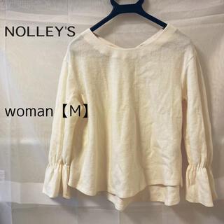 ノーリーズ(NOLLEY'S)のNOLLEY` S  ノーリーズ 袖ボリュームプルオーバーカットソー(カットソー(長袖/七分))