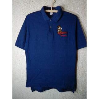 ディズニー(Disney)のo2623 レア ディズニー アメリカ製 90s ビンテージ ポロシャツ(ポロシャツ)
