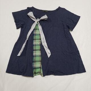 アデュートリステス(ADIEU TRISTESSE)のゆったりデザインTシャツ(Tシャツ(半袖/袖なし))
