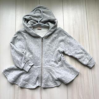 プティマイン(petit main)のプティマイン ♡ペプラムパーカー(ジャケット/上着)