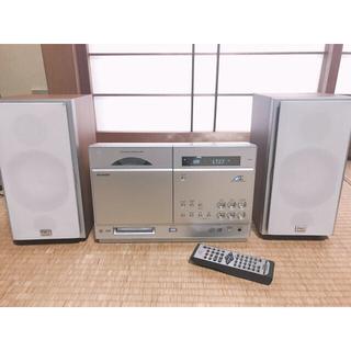 シャープ(SHARP)の【シャープ】オーディオプレイヤー SD-CX80(スピーカー)