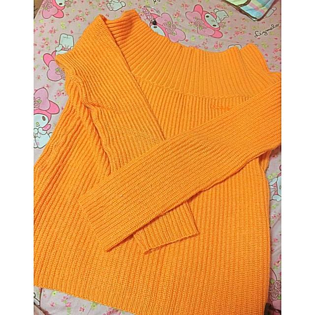 リブニットトップス レディースのトップス(ニット/セーター)の商品写真