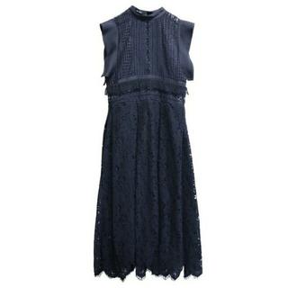 AULA AILA - 【値引き】アウラアイラ ミックスレース ドレス