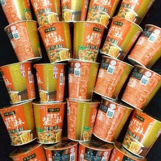 明星 中華三昧 酸辣湯麺 榮林 カップ麺 24個(麺類)