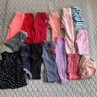 コンビミニ(Combi mini)の女の子80サイズ まとめ売り ⭐️美品⭐️29着⭐️コンビミニ・H&Mなど…(パンツ)